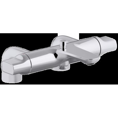 mitigeur thermostatique bain douche sur gorge