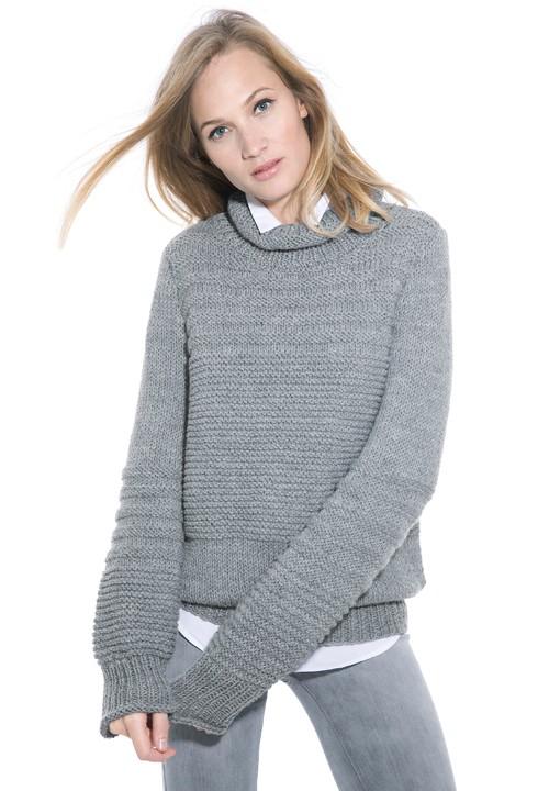 modèle de pull à tricoter
