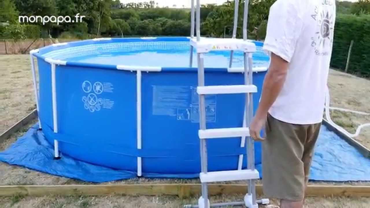montage piscine hors sol intex
