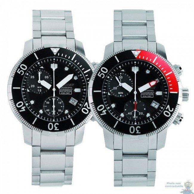 montre beuchat chronographe