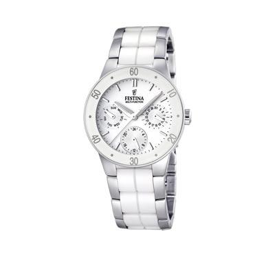 montre blanche ceramique femme