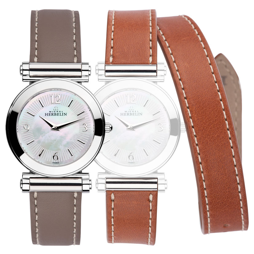 montre bracelet interchangeable femme