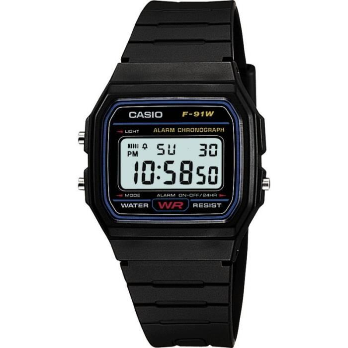 montre casio etanche 100 m