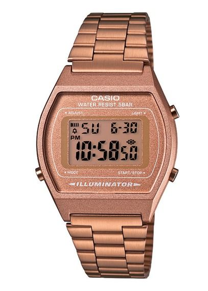 montre casio gold rose