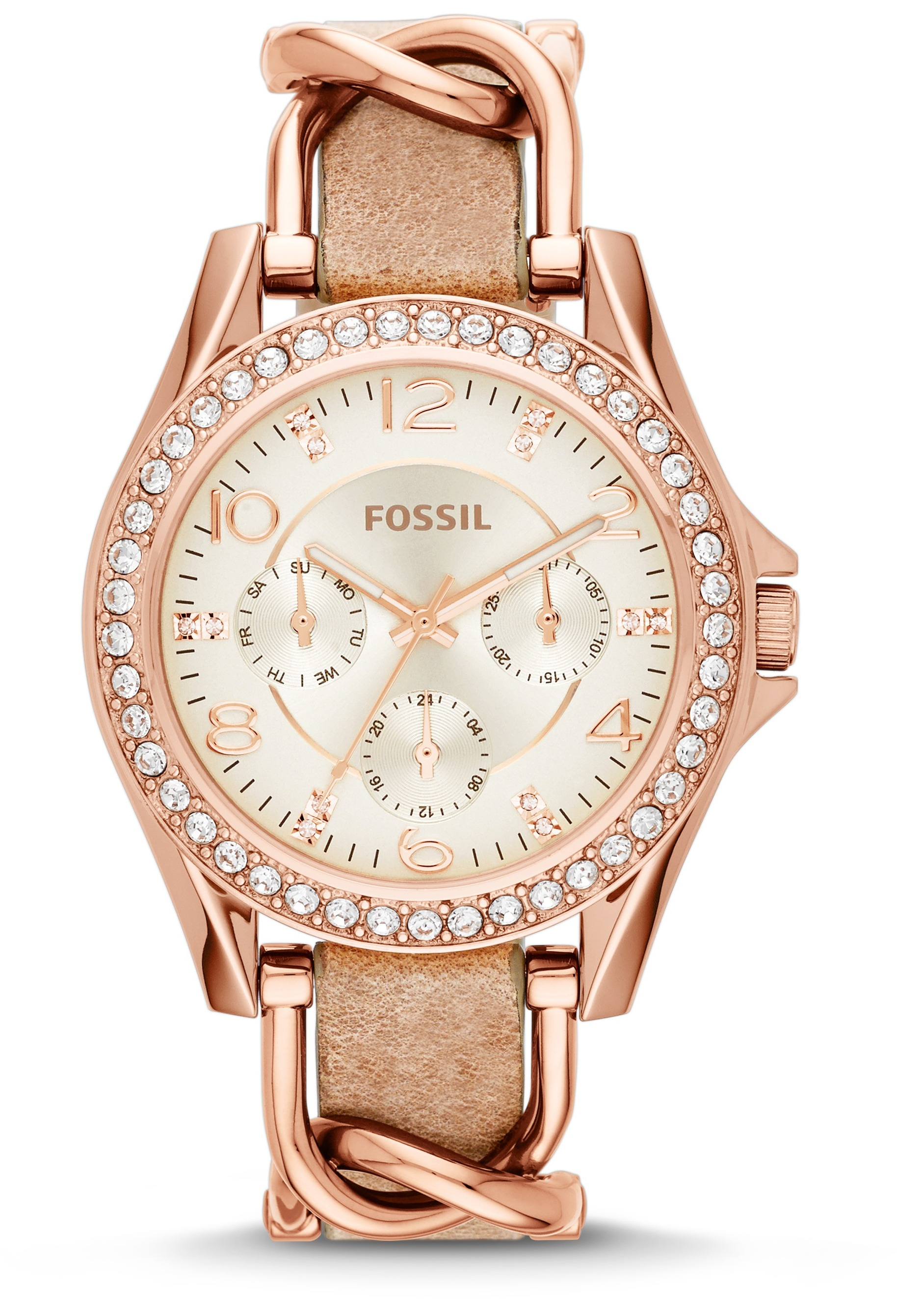 montre fossil riley