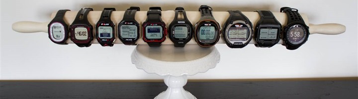 montre gps comparatif