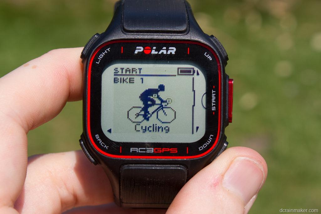 montre gps cyclisme