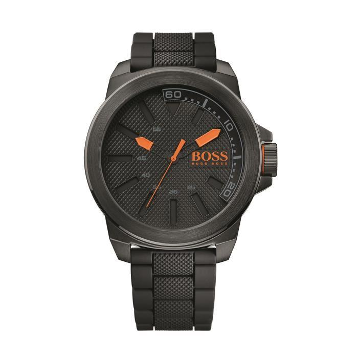 montre hugo boss orange homme