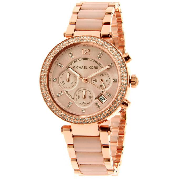montre mk or rose