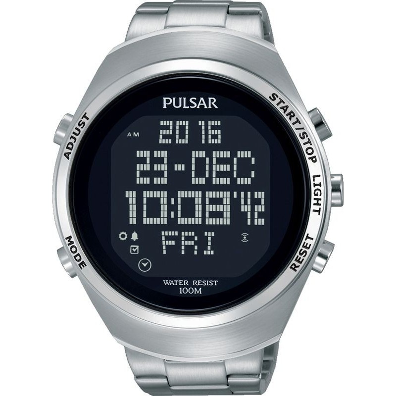 montre pulsar digital