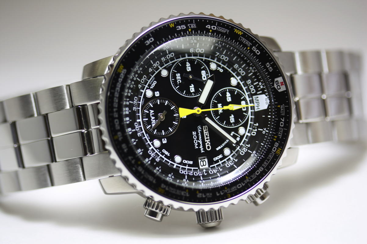montre seiko aviateur