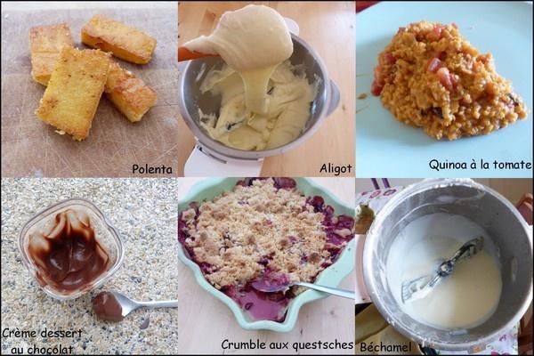 moulinex companion recette
