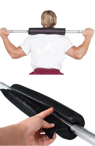 mousse de protection pour barre de musculation