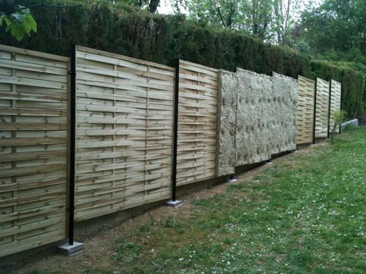 mur anti bruit pas cher