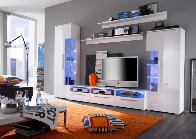 mur tv led