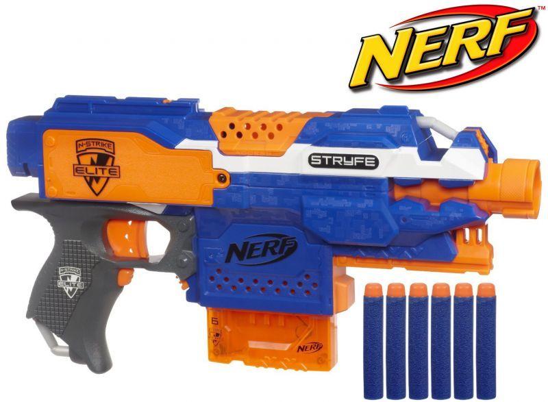 nerf pistolet automatique