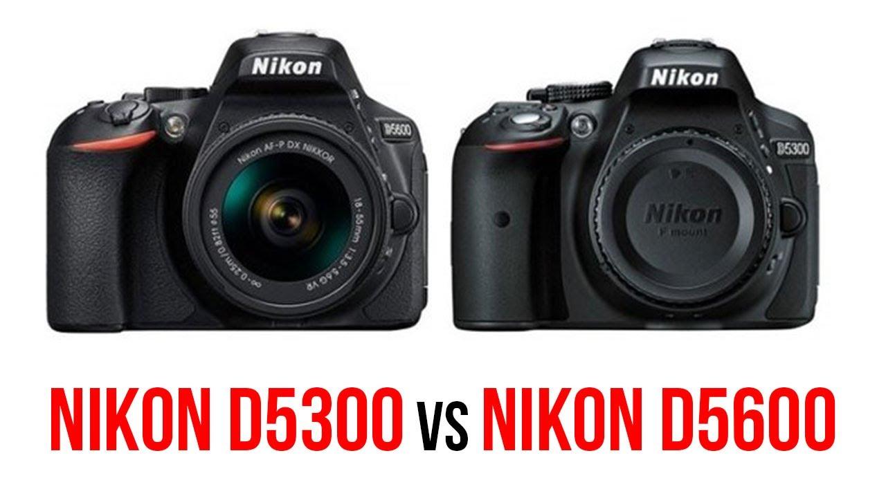 nikon d5300 compare