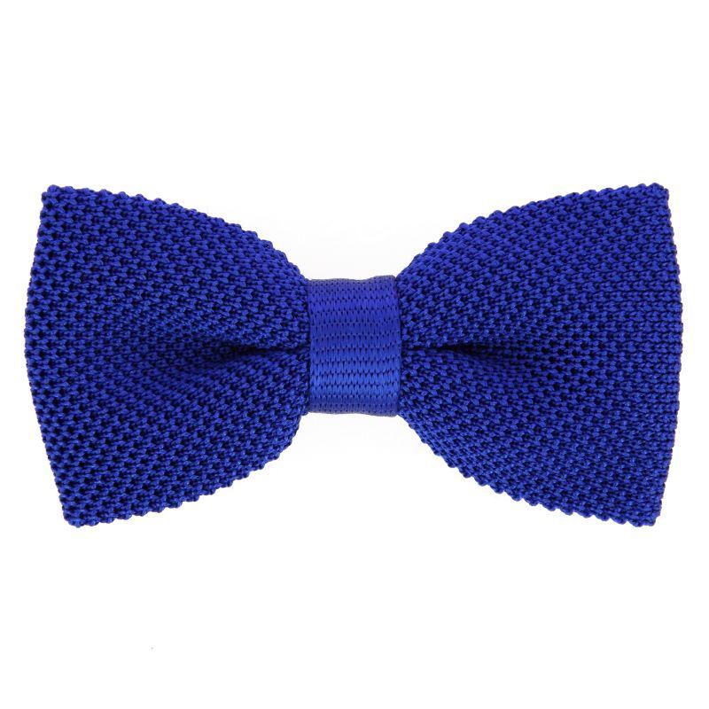 noeud papillon bleu electrique