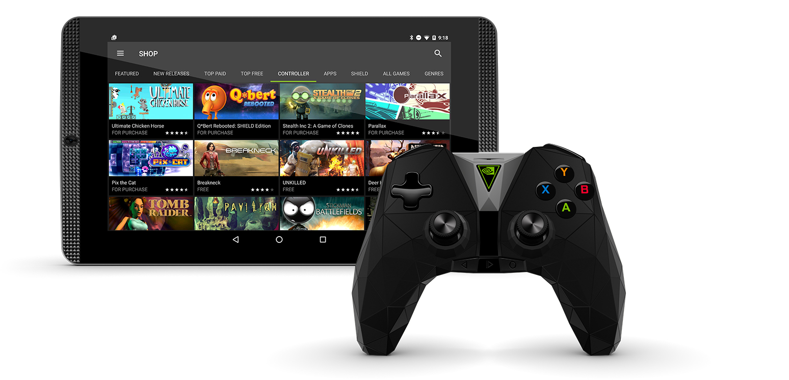 nvidia shield tablette 2