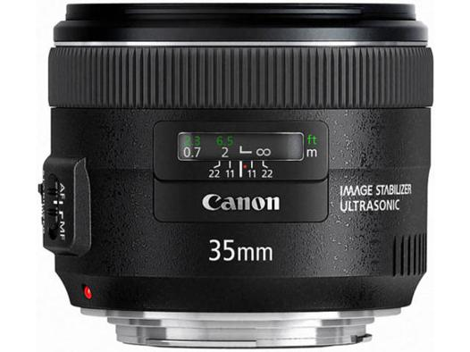objectif canon 35 mm