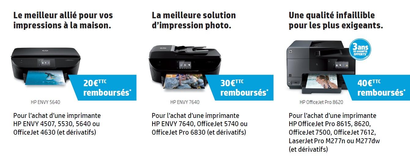 offre hp imprimante