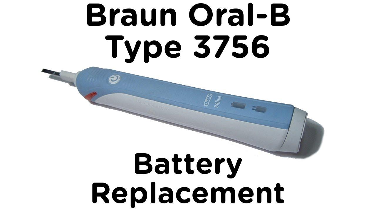 oral b changer batterie