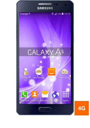 orange samsung a5
