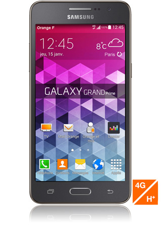 orange samsung galaxy grand prime