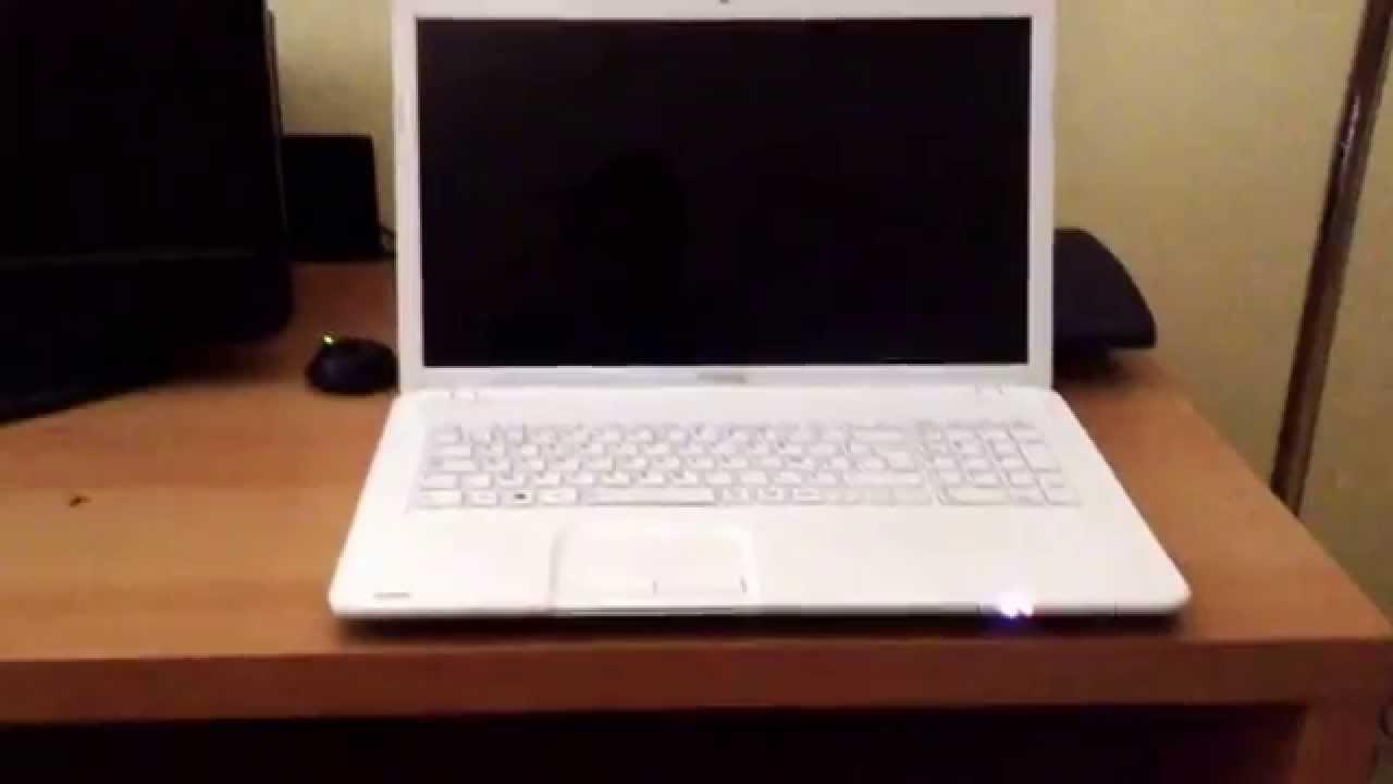 ordinateur portable allumé mais écran noir