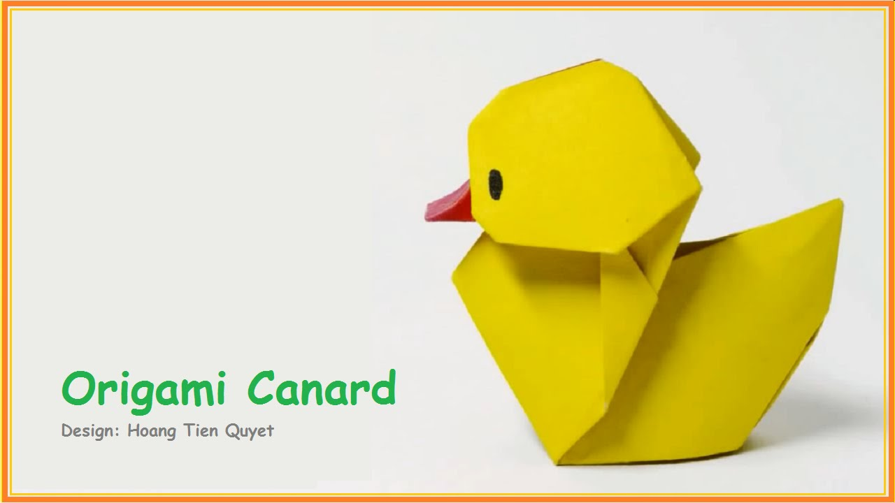 origami facile animaux