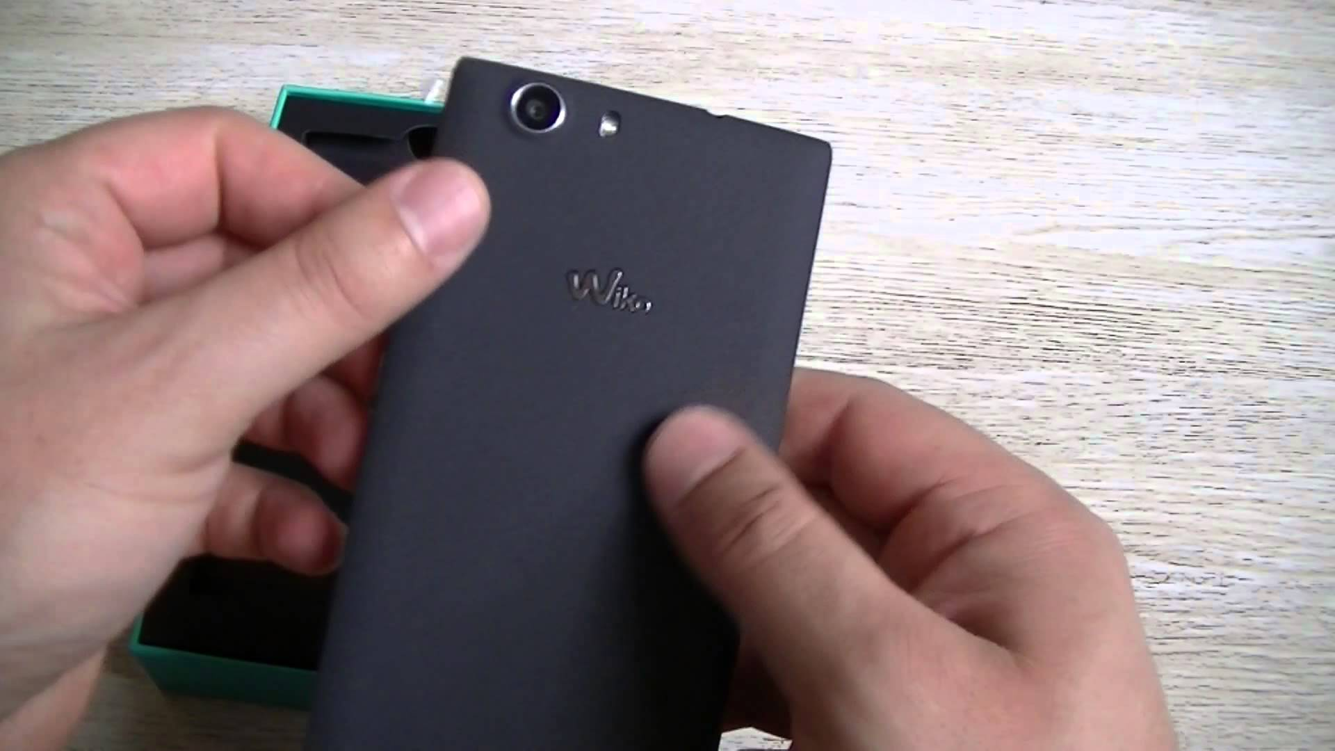 ouvrir telephone wiko