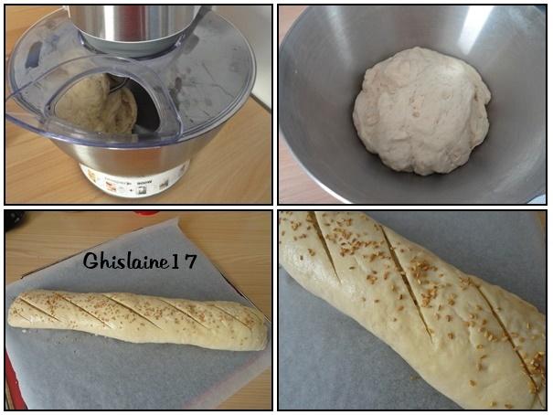 pain au robot patissier