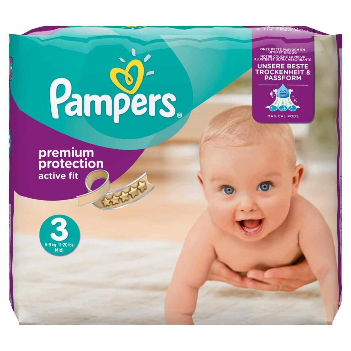 pampers active fit t3