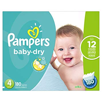 pampers baby dry 4