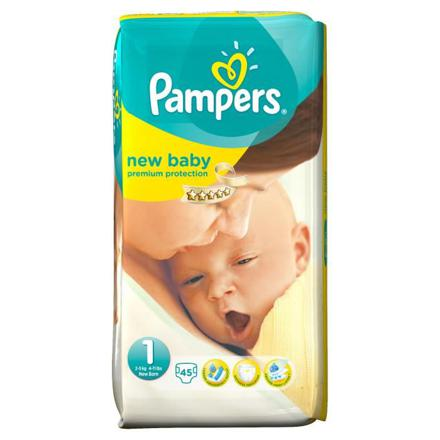 pampers new baby taille 1 pas cher