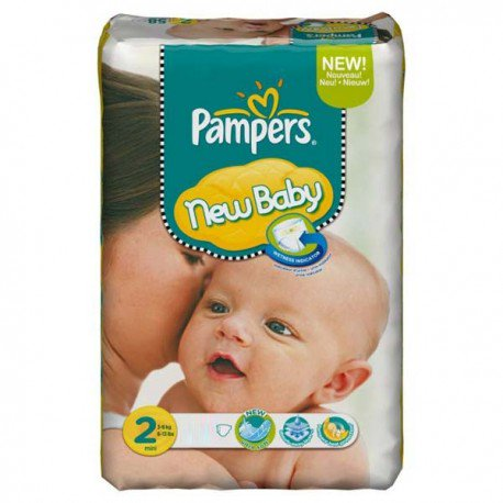 pampers new baby taille 2 pas cher