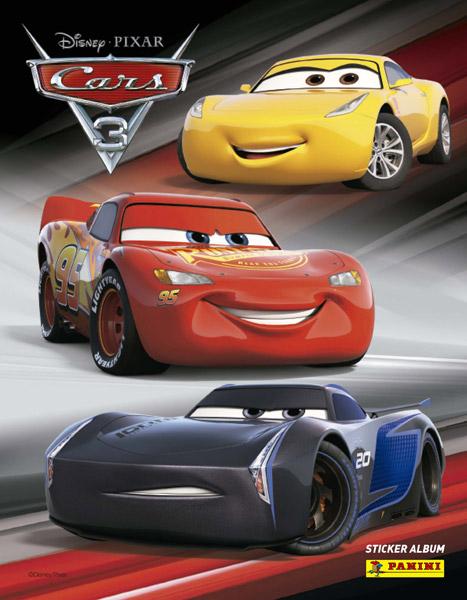 panini cars 3