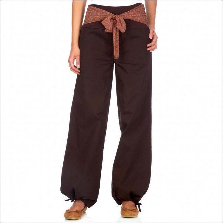 pantalon boule femme pas cher
