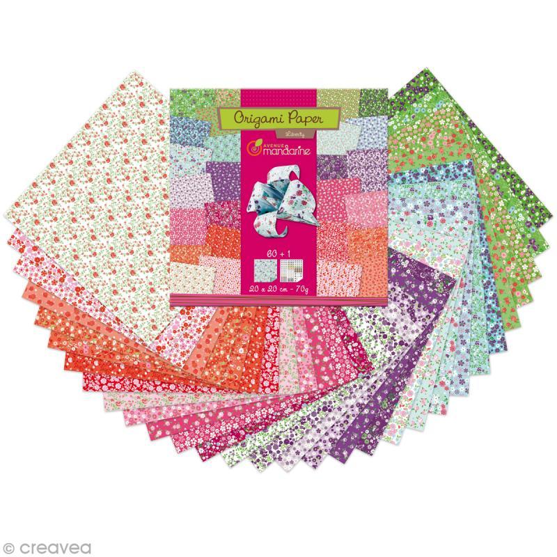papier origami liberty