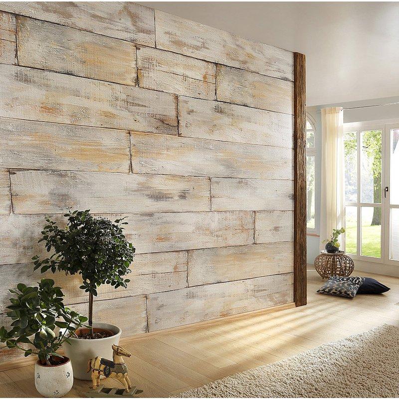 papier peint motif bois