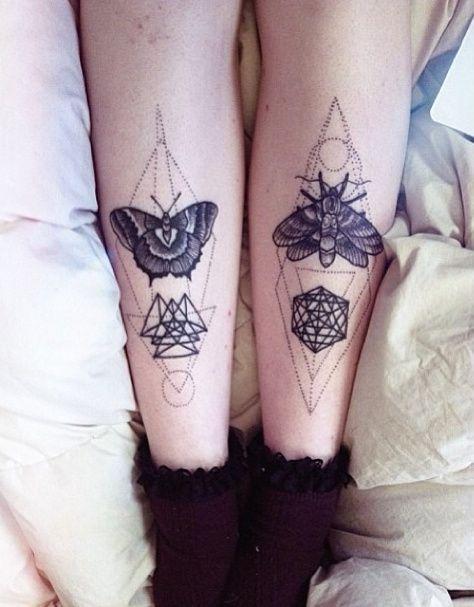 papillon de nuit tattoo