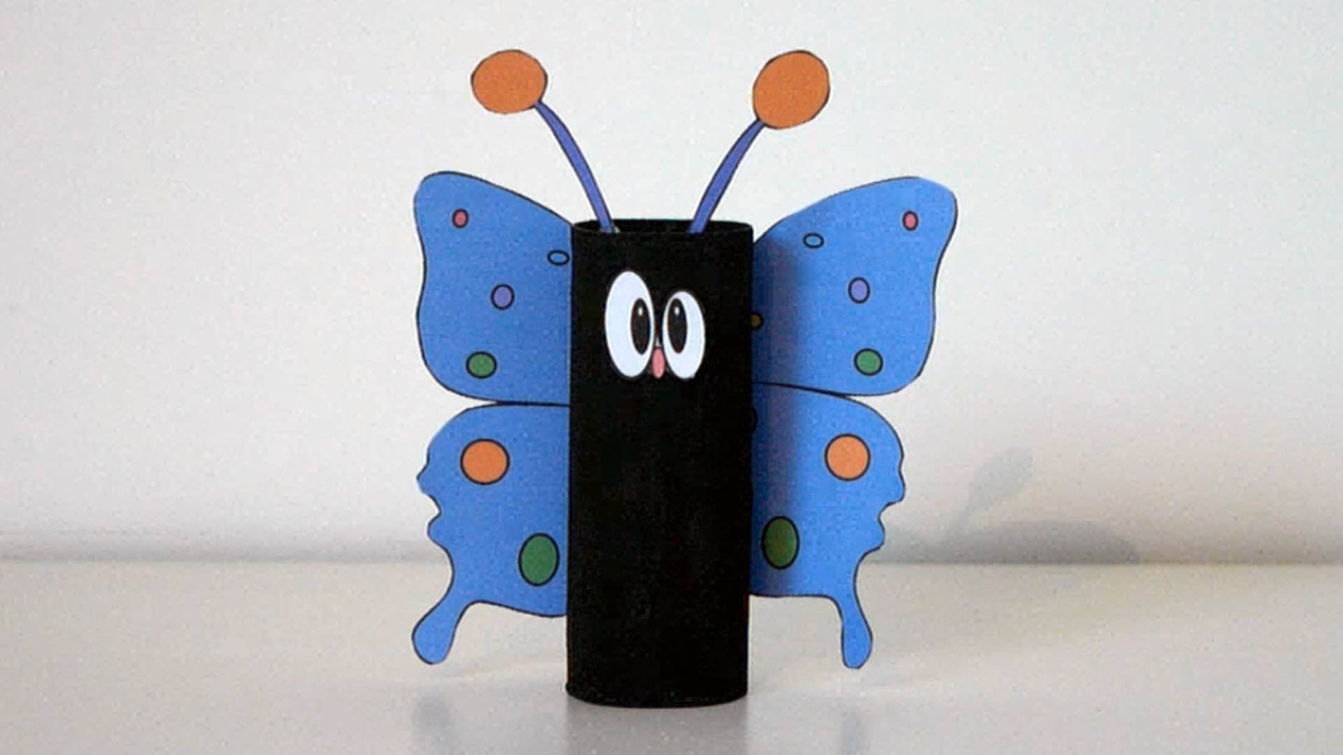 papillon rouleau papier wc
