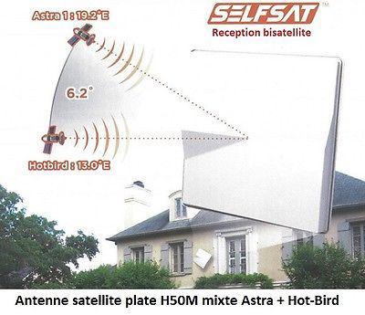 parabole discrete astra hotbird