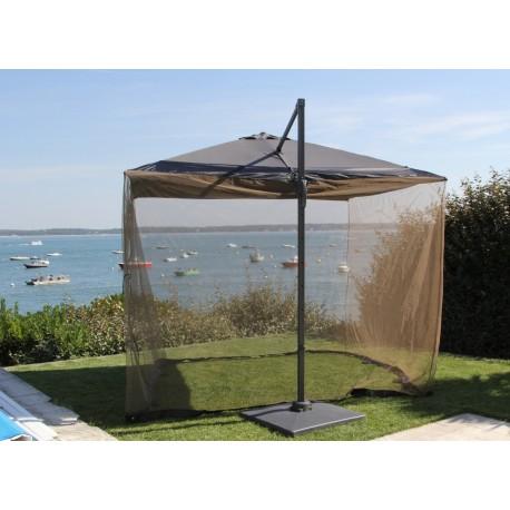 parasol avec moustiquaire