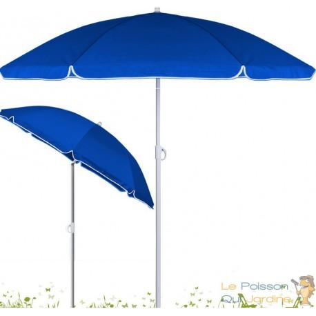 parasol de plage inclinable