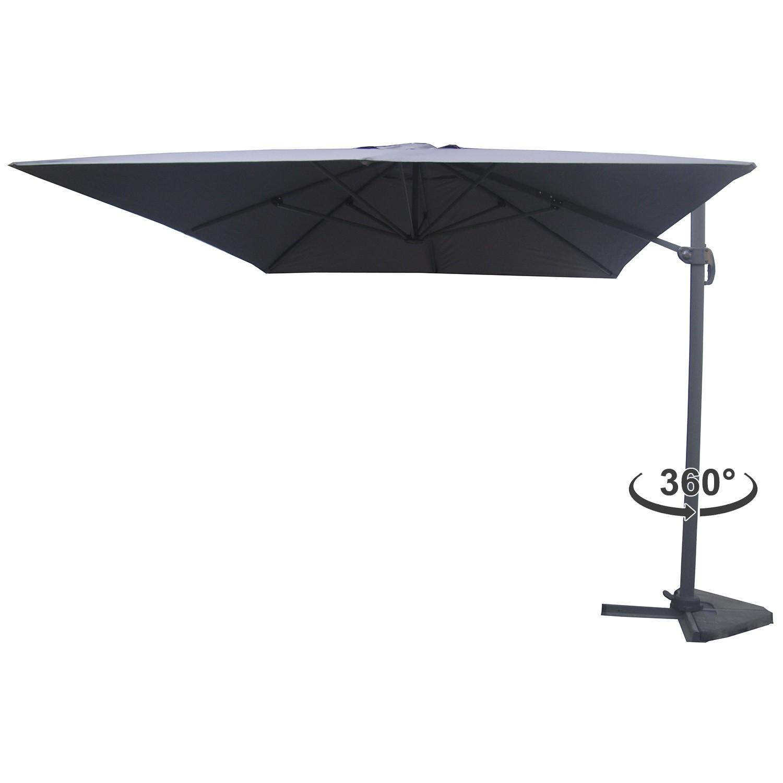 parasol déporté gris