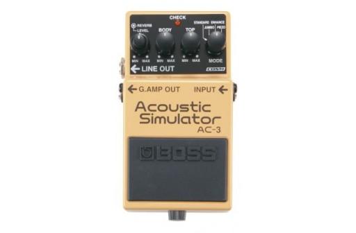 pedale effet acoustique