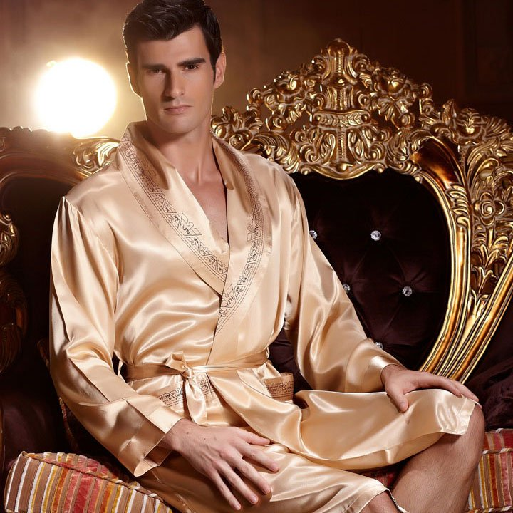 peignoir luxe homme