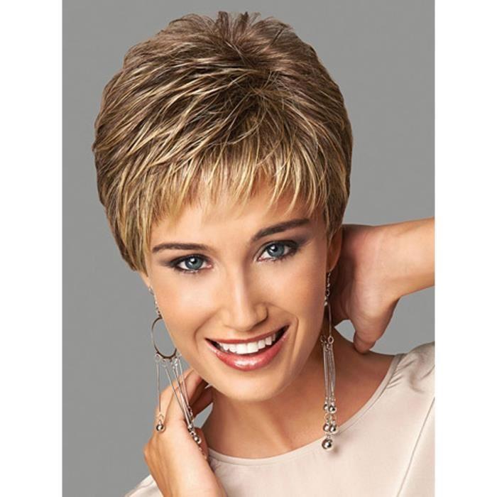 perruques femmes cheveux courts
