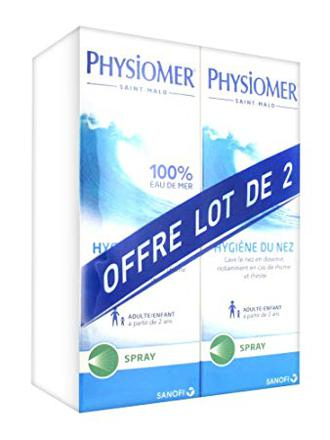 physiomer lot de 2